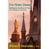 For Notre Dame book