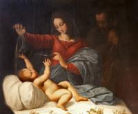 Nativity painting San Luigi